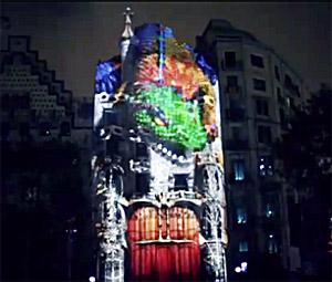 El despertar del drac Casa Batlló