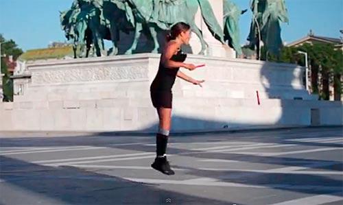 縄跳び高度テクニック