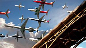 Landings at San Diego Int Airport Nov 23 2012