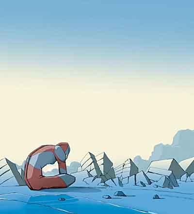 イラスト「消沈のウルトラマン」