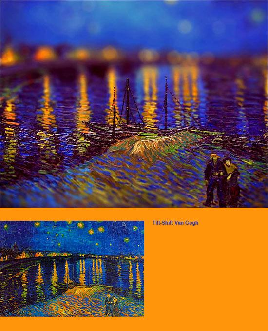 ゴッホ 「ローヌ川の星降る夜」