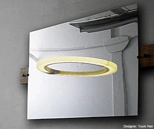 天使の輪の照明