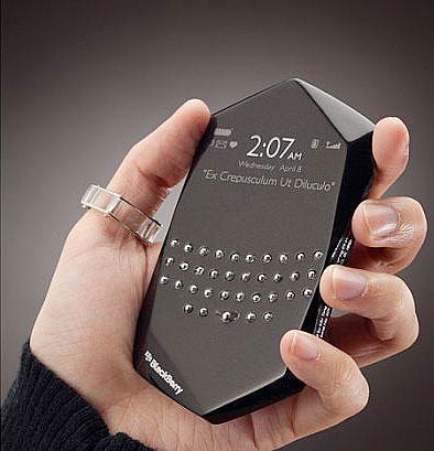 ブラックベリー・エンパシィ裏面 楽しい!クリエイト作品!: とんがった携帯 スマートフォン専用ペ