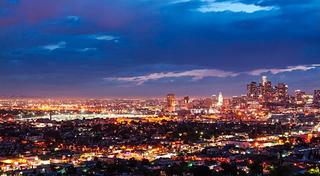 ロスアンゼルス夜景