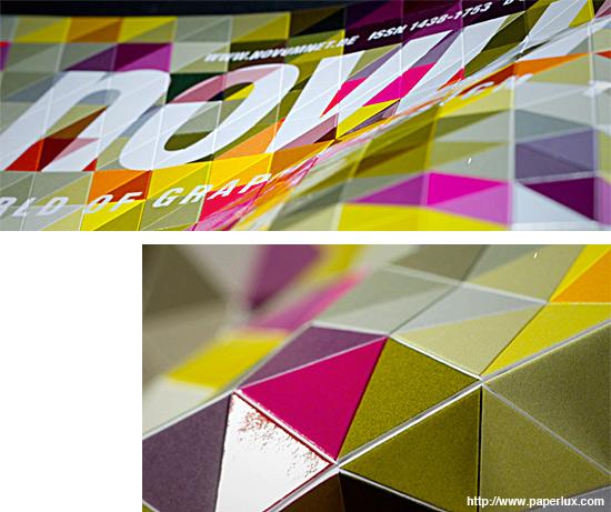 幾何学的な表紙